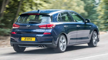 Hyundai i30 N-Line - rear