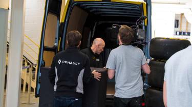 Renault Pro+ vans rear hinge doors