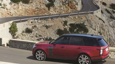 Range Rover rear - Footballers' cars