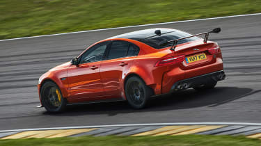 Jaguar XE SV Project 8 - rear action