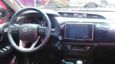 Toyota Hilux Geneva - interior
