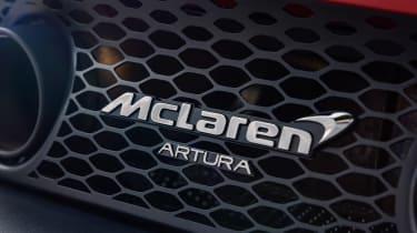 McLaren Artura - Artura badge