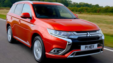 New 2019 Mitsubishi Outlander PHEV red