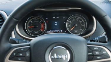Jeep Cherokee - dash