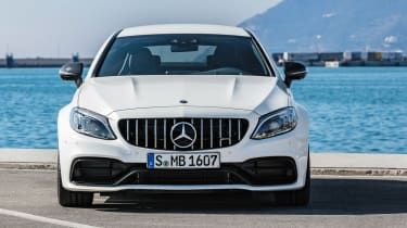 Mercedes-AMG C 63 S - full front static