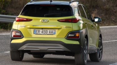 Hyundai Kona Premium SE 2017 - rear action