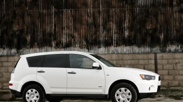 The Outlander is good to drive with good road holding and handling.