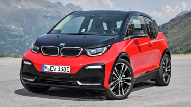 New BMW i3s - front