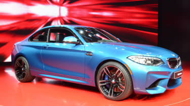 BMW M2 Coupe - show front quarter