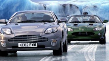 Bond car chase