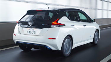 2017 Nissan Leaf - rear