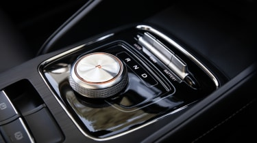 MG ZS EV drive selector