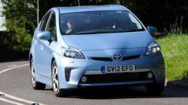 Toyota Prius Plug-in front action