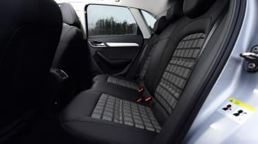 Audi Q3 group test - rear seats