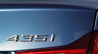 BMW 435i badge