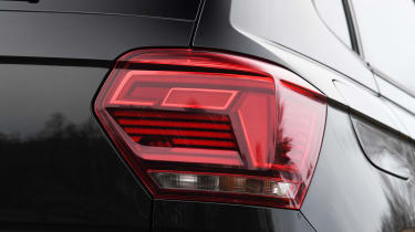 vw polo r-line rear light