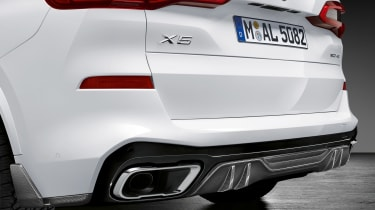 BMW X5 M Performance Parts - rear detail
