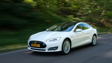 The 85D is the Tesla Model S electric car in four-wheel-drive guise.