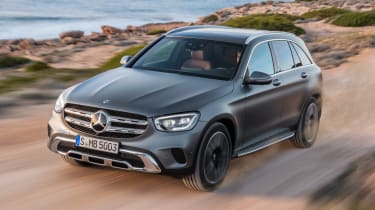 Mercedes GLC - front off-road
