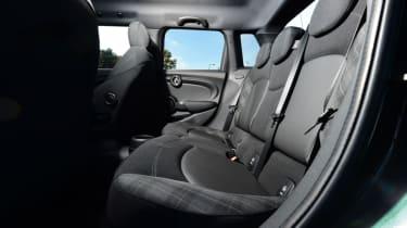 MINI Cooper 5dr rear seats