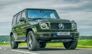Mercedes G 350 d - front tracking