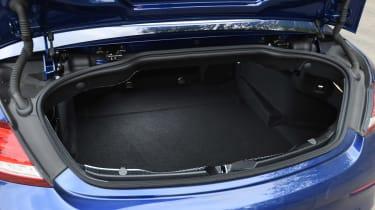 Mercedes C-Class Cabriolet - boot