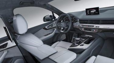 Audi SQ7 blue - interior 2