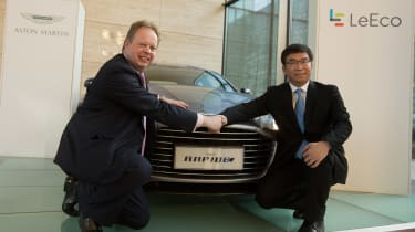 Aston Martin and LeEco partnership