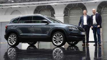 Skoda Karoq lead option