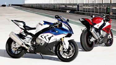 BMW S1000RR Sport two