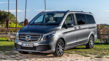 Mercedes V-Class - front static