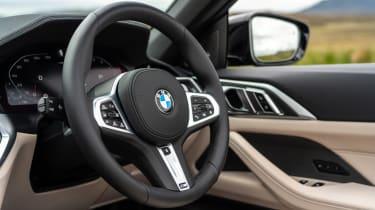 BMW M440i Convertible - steering wheel