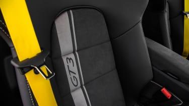 Porsche 911 GT3 - seat