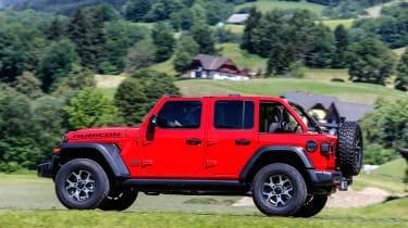 New Jeep Wrangler Rubicon - side