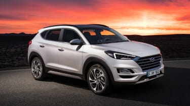 Facelifted Hyundai Tucson - front static
