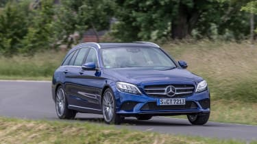 Mercedes C-Class Estate - front action