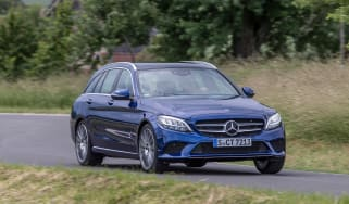 Mercedes C-Class Estate - front action