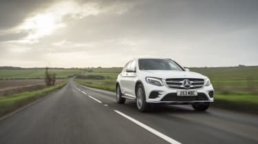 Mercedes GLC 250d 2016 - front tracking