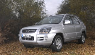 Sportage front