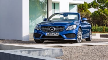 Mercedes C-Class Cabriolet - front static