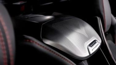 Chevrolet Corvette - interior detail