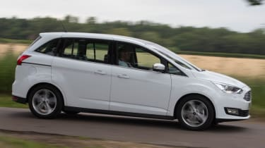 Ford Grand C-MAX 2016 - side tracking