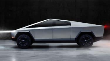Tesla Cybertruck side