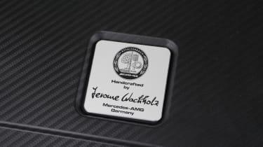 Mercedes A45 AMG badge