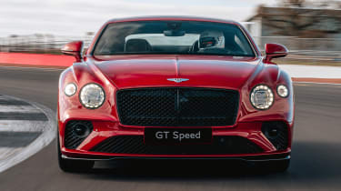 Bentley Continental GT Speed - full front
