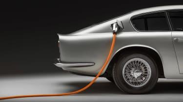 Lunaz Aston Martin DB6 - side detail