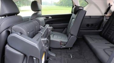 2017 SsangYong Rexton - back seats
