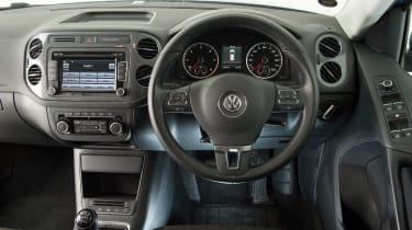 Used Volkswagen Tiguan - dash