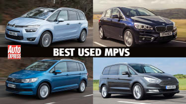 Best used MPVs and people carriers - header