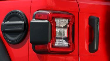 New Jeep Wrangler Rubicon - taillight